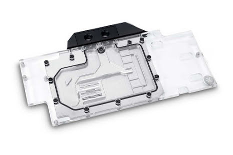 EK vannblokk for skjermkort, EK-FC1080 GTX Ti FTW3 - Nickel