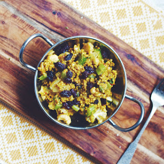 Cashew Curried Millet Salad