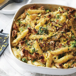 Broccoli And Cheese Penne.