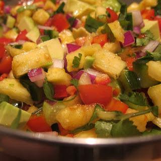 Pineapple and Avocado Salad Recipe