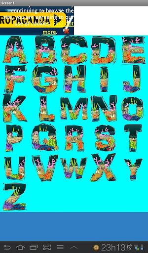 Alfabeto en Ingles