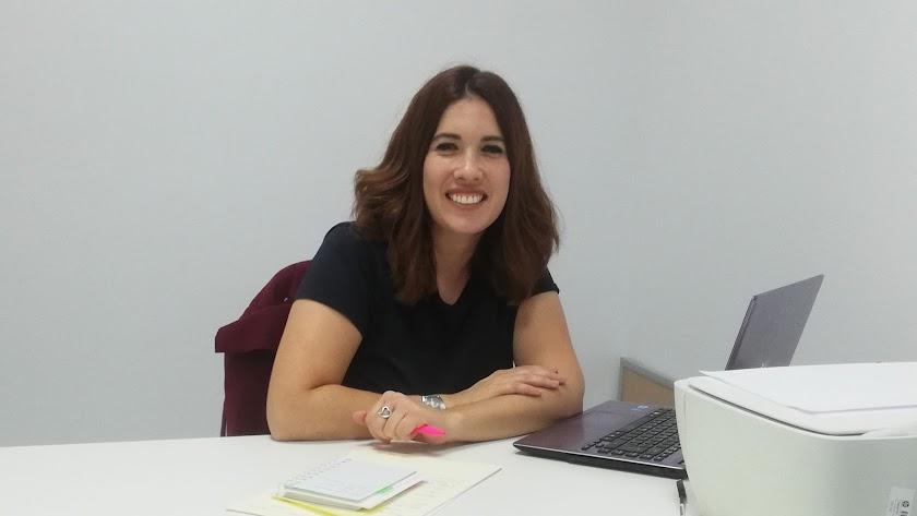 Davinia Simón, la emprendedora alojada en el CADE.