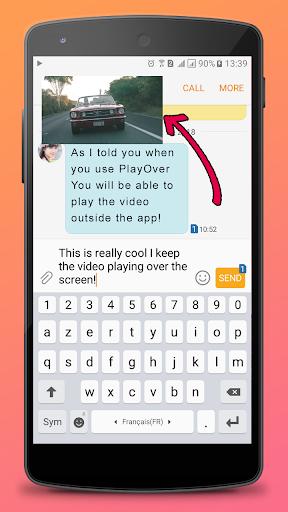 PlayOver for Youtube : play tube and music radio 1.0.5 screenshots 1