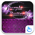 TouchPal PurpleButterfly Theme icon