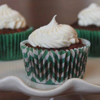 Whole Wheat Carrot Cake Cupcakes.