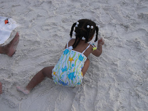 Photo: playing in the sand