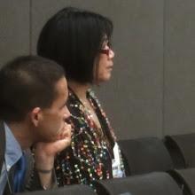 Photo: Dr. Kawika Liu & Elena Ong, APIC Chair & Chair-Elect