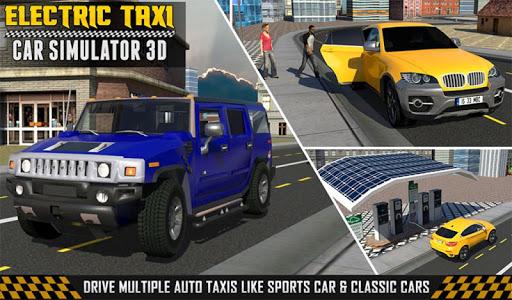 免費下載模擬APP|电动出租车汽车模拟器3D app開箱文|APP開箱王