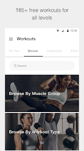 Nike Training Club—Home workouts and fitness plans Screenshot