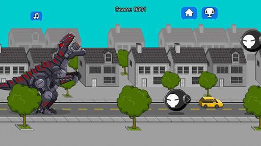 Robot Dinosaur Black T-Rex 2.5 screenshots 3