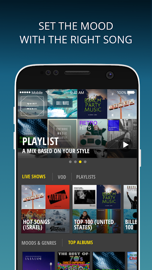 DoReMeet: Music & Free Streams- screenshot