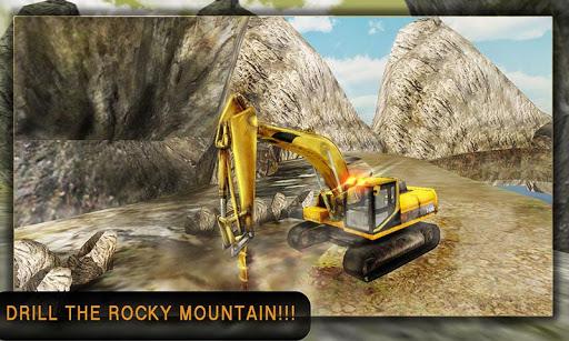 Construction Drilling Crane 3D
