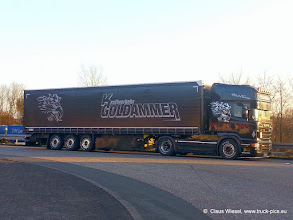 Photo: Kraftverkehr Goldammer, Dortmund. BLACK WARRIOR     Click for more photos: www.truck-pics.eu or join me on Facebook: claus wiesel
