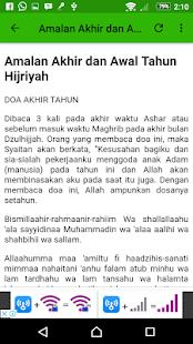 Doa Tahun Hijriyah - náhled