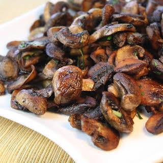 Sauteed Mushrooms.
