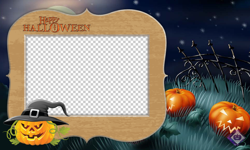 halloween photo frames editor screenshot