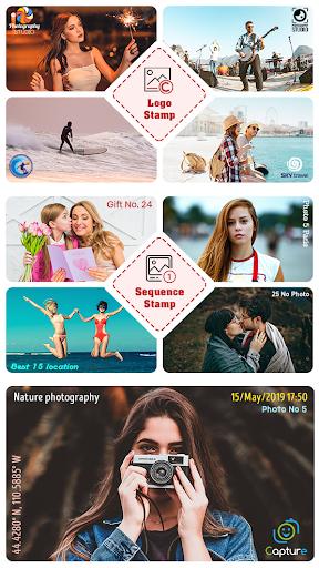 Auto Stamperu2122: Date and Timestamp Camera App 3.8.4 screenshots 2
