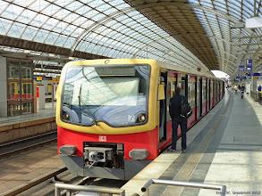 Photo: 481 105-5 (DB), S5 Berlin Spandau - Strausberg {Berlin Spandau; 2015-09-25}