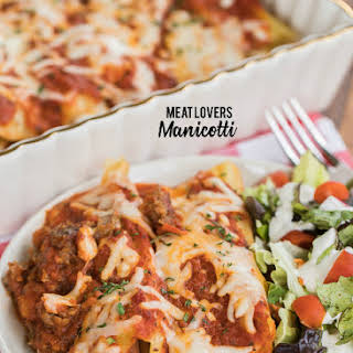 Meat Lovers Manicotti.