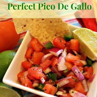 Perfect Pico De Gallo.