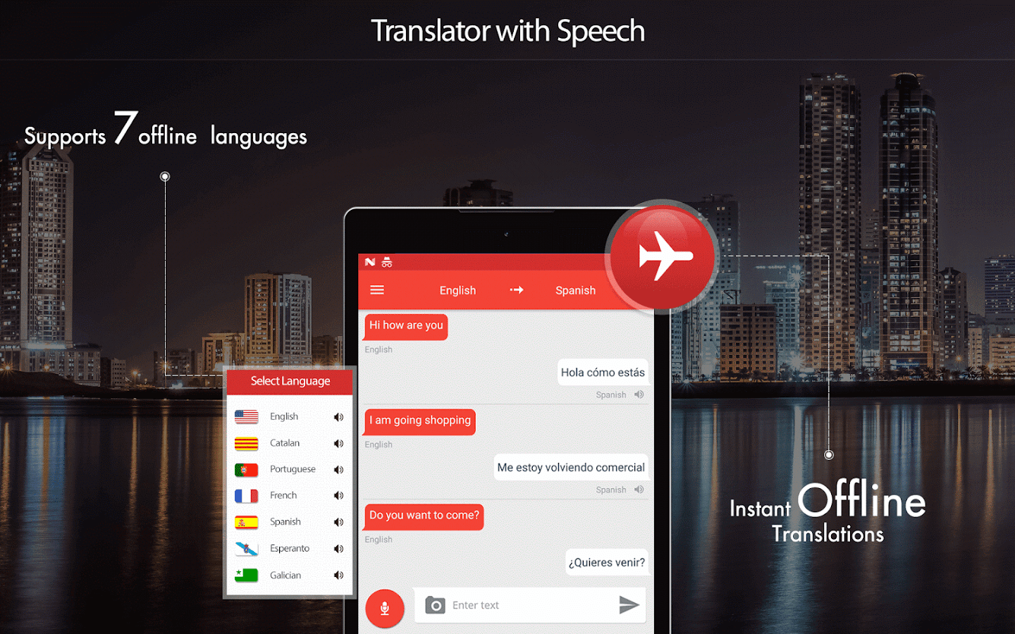 Translator With Speech- screenshot