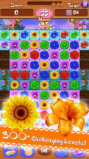 Flower Mania: Match 3 Game apktram screenshots 3