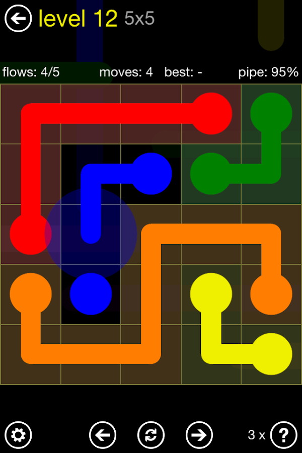 play flow game online