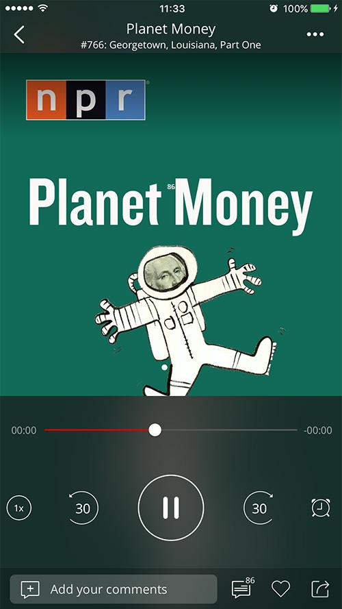 Podcast App & Podcast Player - Podbean- screenshot