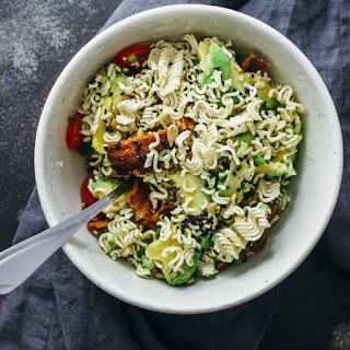 Ramen Salad With Bacon And Avocado
