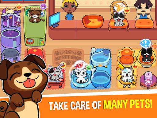 My Virtual Pet Shop - Cute Animal Care Game 1.12.2 screenshots 9