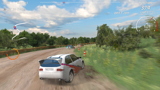 Rally Fury - Corrida de carros de rally extrema screenshot 1