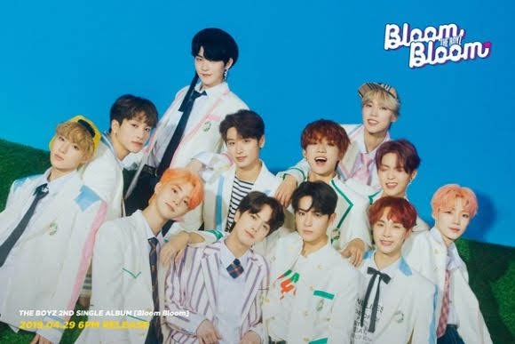 THE BOYZ volvió con su segundo álbum 'Bloom Bloom'