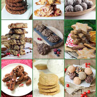Gluten-Free Holiday Cookie Party & Choco Cranberry Coconut Macaroons.