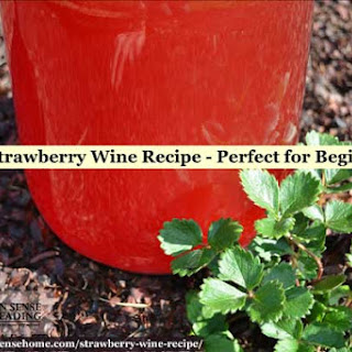 Easy Strawberry Wine