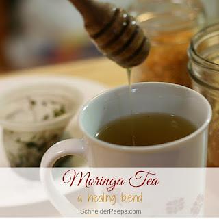 Healing Moringa Tea Recipe