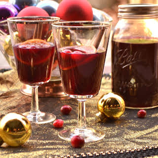 Mulled Cranberry Wine.