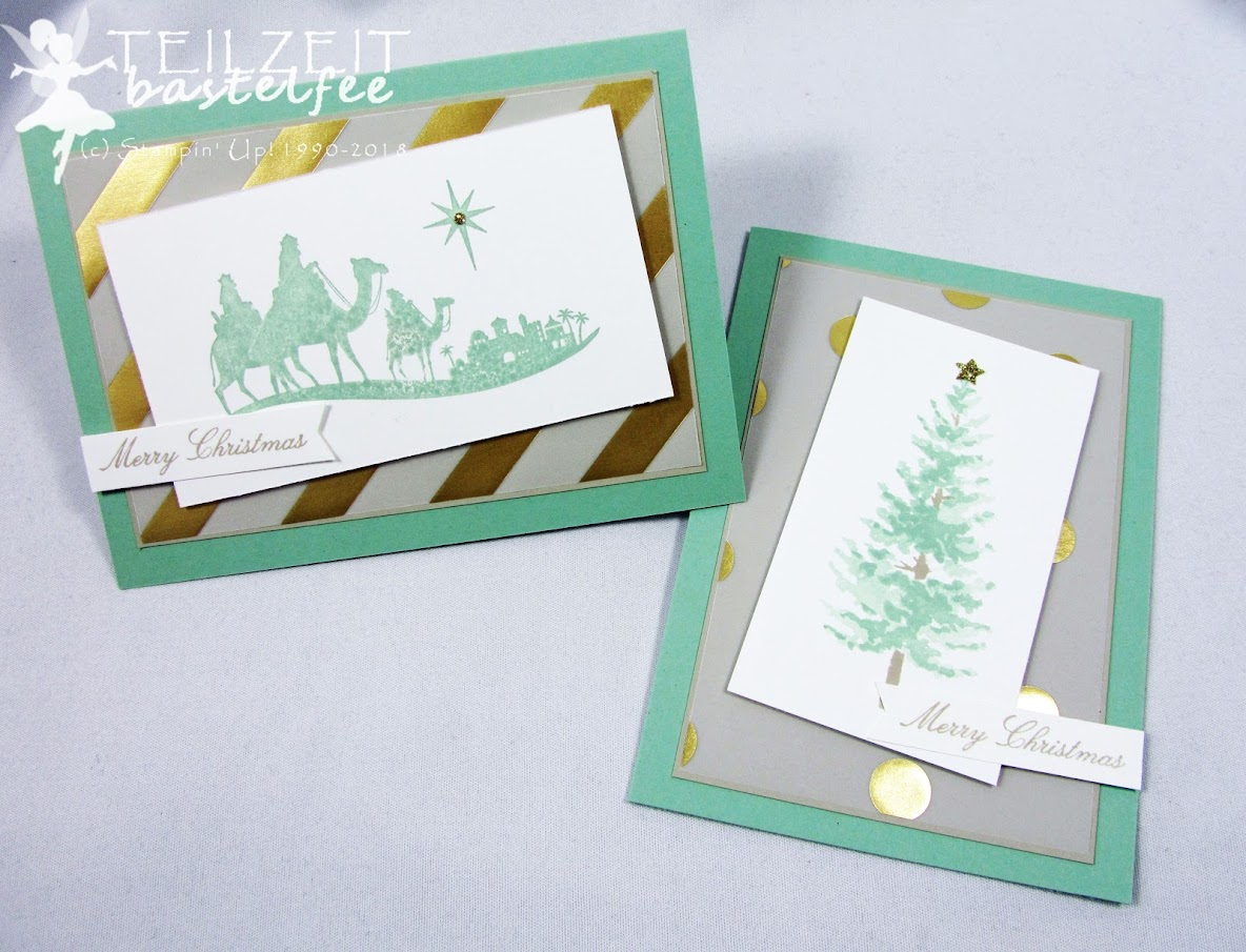Stampin' Up! – Inkspire_me, Color Challenge, Weihnachten, Christmas, Come to Bethlehem, Tage wie Weihnachten, Season like Christmas, DSP, Designerpergament