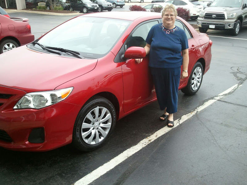 Photo: Al Smith would like to congratulate Wendy on her new 2012 Toyota Corolla!!!