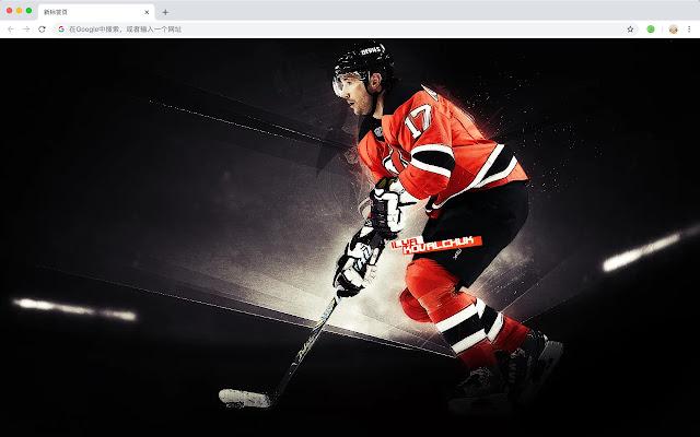 New Jersey Devils HD Wallpaper New Tab