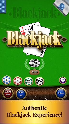 Blackjack Card Game screenshot 1