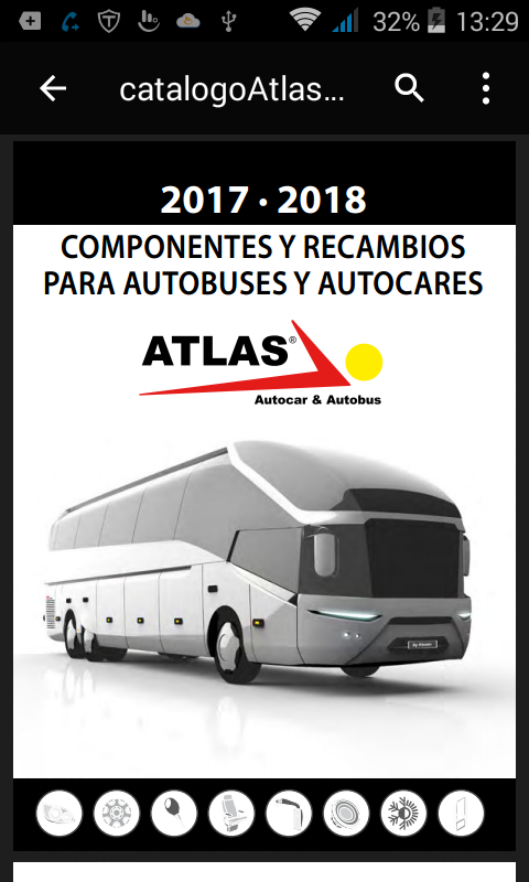Atlas Bus: captura de pantalla