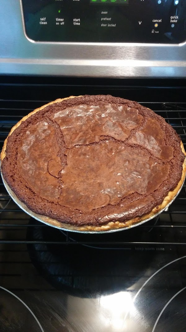 Fudge Brownie Pie Recipe