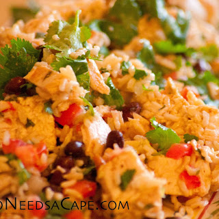 Chipotle Lime Chicken Salad.