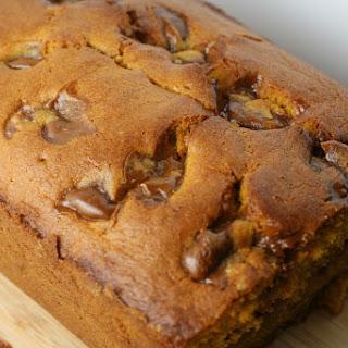 Pumpkin Pound Cake with Dulce de Leche Swirls