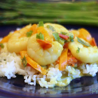 Shrimp Coconut Curry.