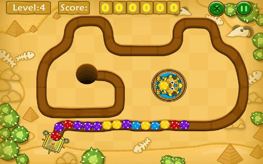 Jungle Marble Blast screenshot 17