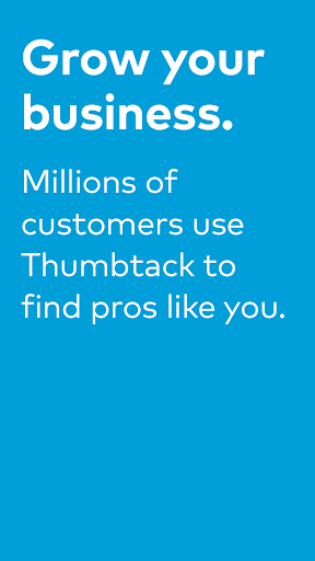 Thumbtack for Professionals screenshot