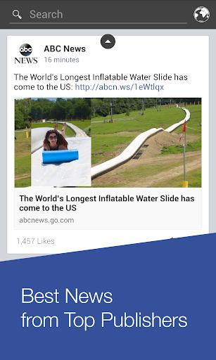 Fast Best News for Facebook