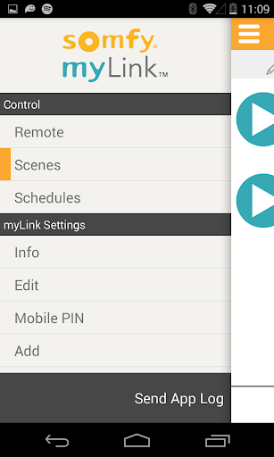 Somfy myLink screenshot 6