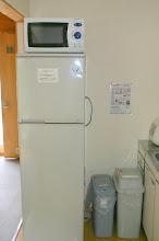 Photo: 冷蔵庫と電子レンジ 冰箱和微波炉 fridge and microwave oven